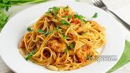 Фото рецепта Спагетти с рыбой