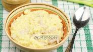 Фото рецепта Пшённая каша на бульоне