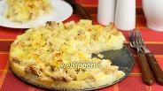 Фото рецепта Картофельная запеканка с индейкой и ананасами
