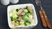 Фото рецепта Картофельный салат с грибами