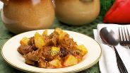 Фото рецепта Горшочки с мясом и картофелем