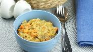 Фото рецепта Каша из красной чечевицы с карри