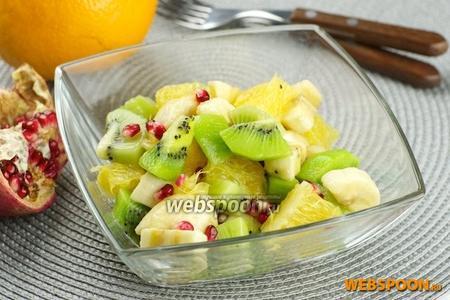 Фруктовый салат с киви