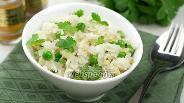 Фото рецепта Рис с горошком и пряностями