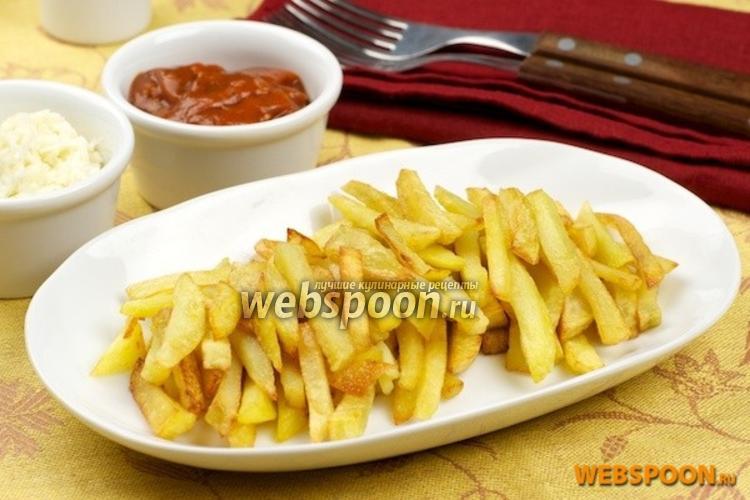 Фото Жареная картошка