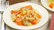 Фото рецепта Десерт из тыквы и яблок