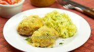 Фото рецепта Котлеты из индейки с сыром в духовке