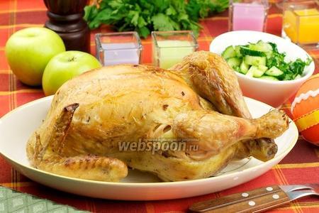 Запечённая курица