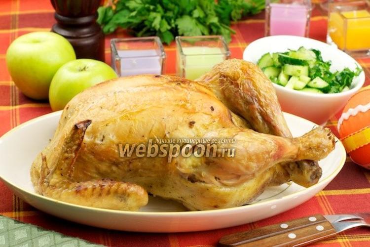 Фото Запечённая курица