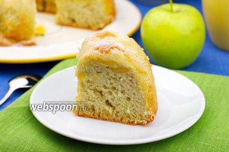 Шарлотка с яблоками видео рецепт