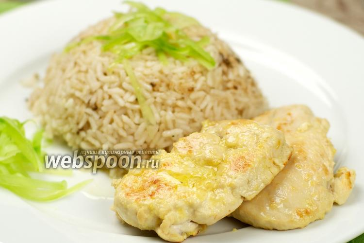 Фото Курица в лимонном соусе