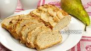 Фото рецепта Пирог с грушами и граппой