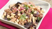 Фото рецепта Салат с тунцом и фасолью