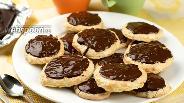 Фото рецепта Печенье «Кокосовые тучки»