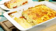 Фото рецепта Творожный пудинг с помидорами
