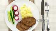 Фото рецепта Оладьи из куриной печени