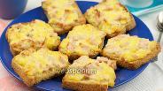 Фото рецепта Горячие бутерброды с сыром и ветчиной