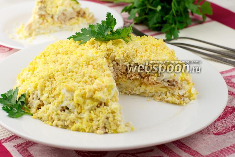 Салат мимоза настоящий классический рецепт