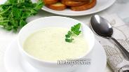 Фото рецепта Суп пюре из кабачков и сельдерея