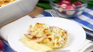 Фото рецепта Картофельная запеканка с беконом