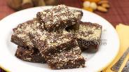 Фото рецепта Шоколадное печенье с орехами