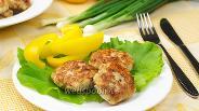 Фото рецепта Куриные котлеты с сыром пармезан