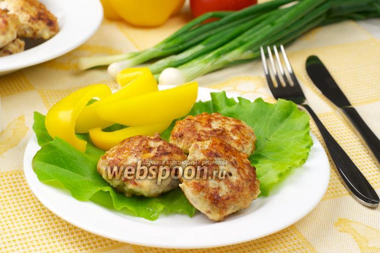Фото Куриные котлеты с сыром пармезан