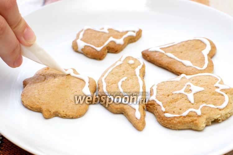 Фото Имбирное печенье