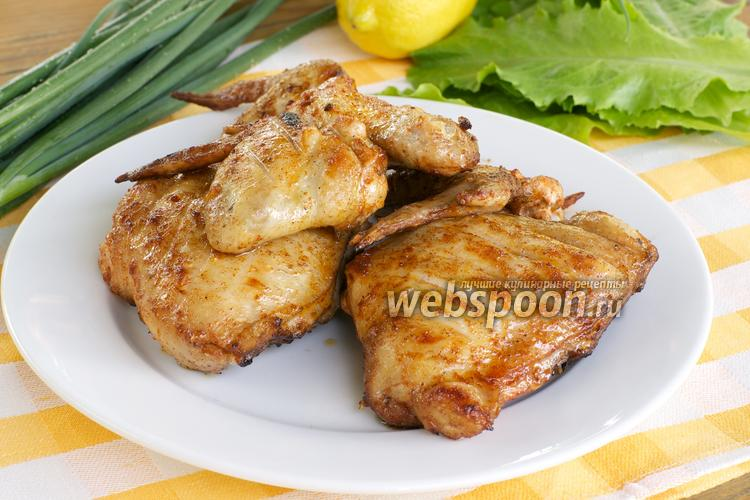 Фото Шашлык из курицы с уксусом