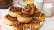 Фото рецепта Булочки с корицей и сахаром