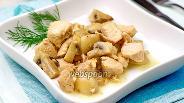 Фото рецепта Индейка с грибами