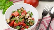 Фото рецепта Салат из запеченных баклажанов