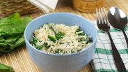 Фото рецепта Рис со шпинатом