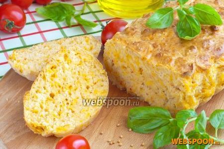 Быстрый хлеб с мраморным сыром