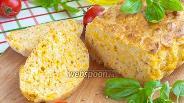 Фото рецепта Быстрый хлеб с мраморным сыром