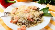 Фото рецепта Спагетти с морским коктейлем