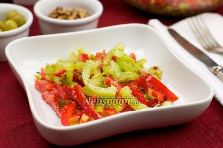 Салат из сладких перцев