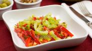 Фото рецепта Салат из сладких перцев
