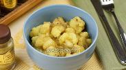 Фото рецепта Цветная капуста с картофелем и карри