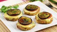 Фото рецепта Запечённые баклажаны с помидорами