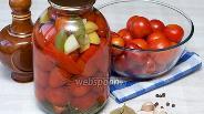 Фото рецепта Помидоры консервированные целые