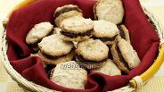 Фото рецепта Миндальное печенье с шоколадом