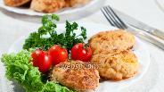 Фото рецепта Куриные котлеты с картофелем