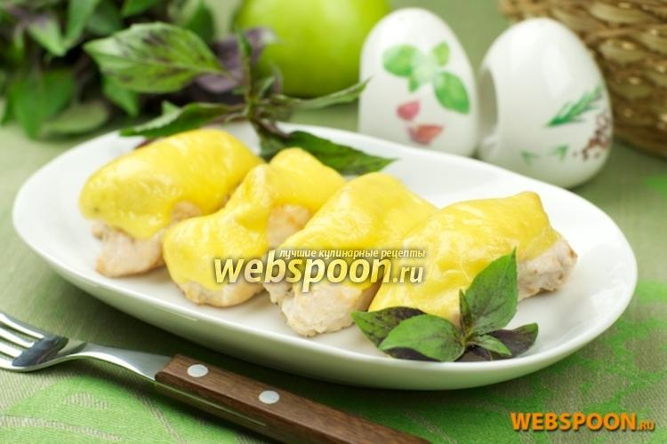 Фото Куриные рулеты с яблоком