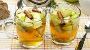 Фото рецепта Чай с яблоками и корицей