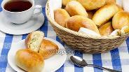 Фото рецепта Пирожки с рисом и яйцом печёные
