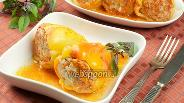Фото рецепта Фаршированный перец рисом и мясом
