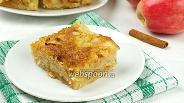 Фото рецепта Насыпной яблочный пирог