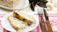 Фото рецепта Кекс из индейки с грибами