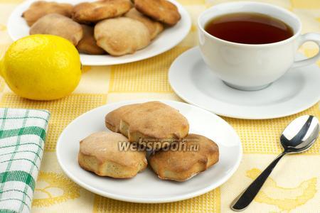 Печенье из гречневой муки с творогом